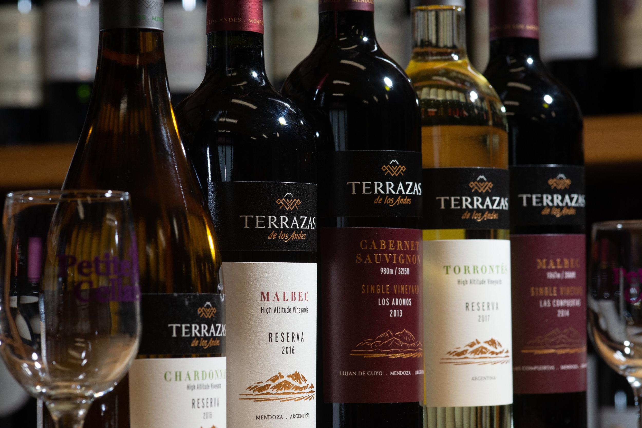Terrazas Winemaker Tasting Seminar Petite Cellars