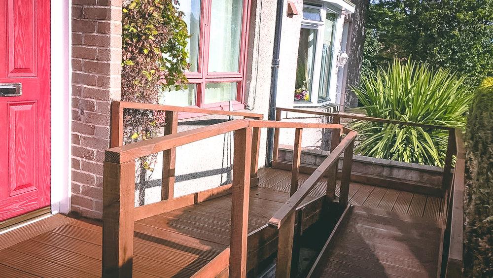 Aberdeen Ramp Installation & staining