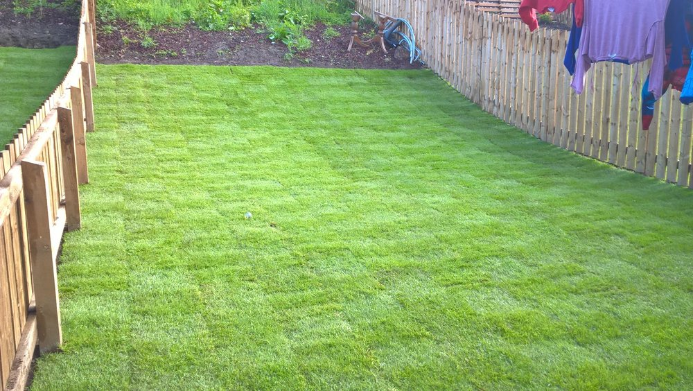 Turfing, Westhill