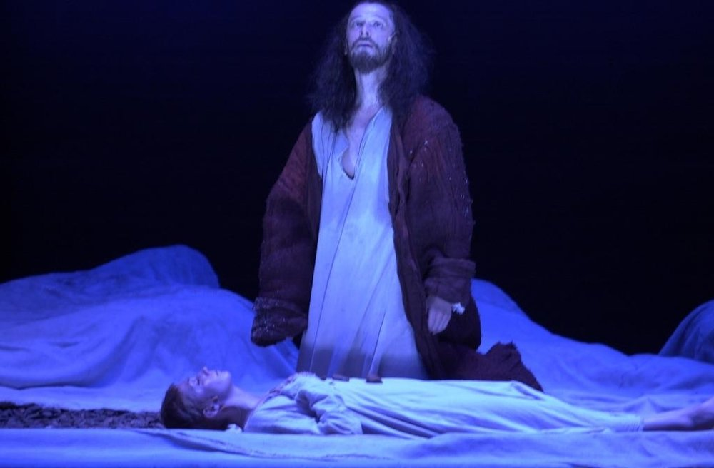 The Slave, produced by  Gesher Theater .