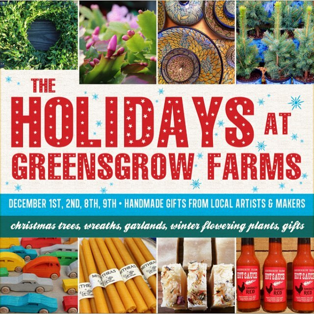 The Holidays at Greensgrow Farms December 8th and 9th 10-4pm! We will be there on Saturday! @greensgrow #ceramics #pottery #majolica #majolicapottery #handmadeholidays #philly #greensgrow #craftfair #craft #gift #buylocalart
