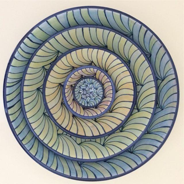 #nestingbowls #majolica #majolicapottery #ceramics