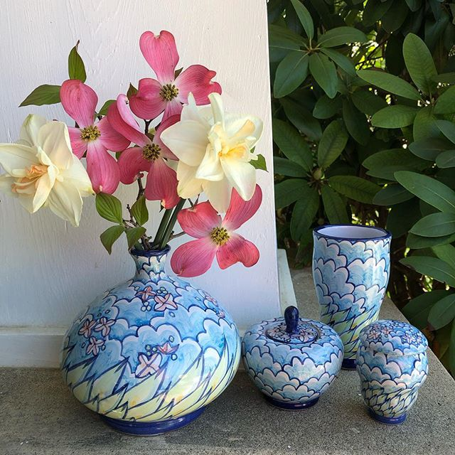Come out this Saturday to The West Craft Fest!  We will have mugs, jars, bowls, tiles and more! The Woodlands in West Philly.  April 27, 11-5pm.  100 local makers, food and Live music! @westcraftfest  #majolica #ceramics