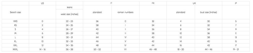 brunello_cucinelli_size_chart