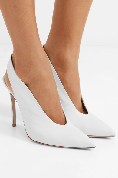 Gianvito Rossi Slingback Pumps, available on Net-a-Porter