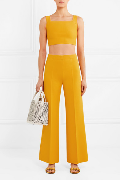 ALAIA CROP TOP, AVAILABLE AT NET-A-PORTER