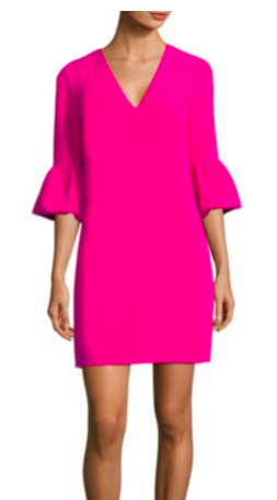 Mandy Bell Sleeve Shift Dress