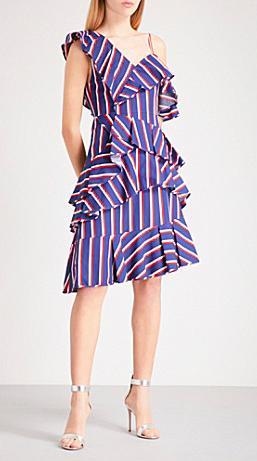 Lafloral Off-Shoulder Dress