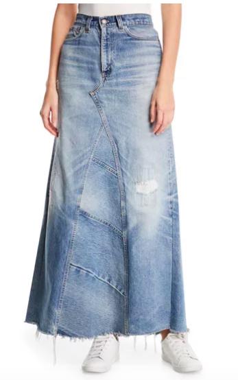 elizabeth and james skirt fit