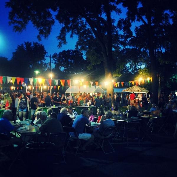 St. Tim's Festival in Columbus, Ohio.