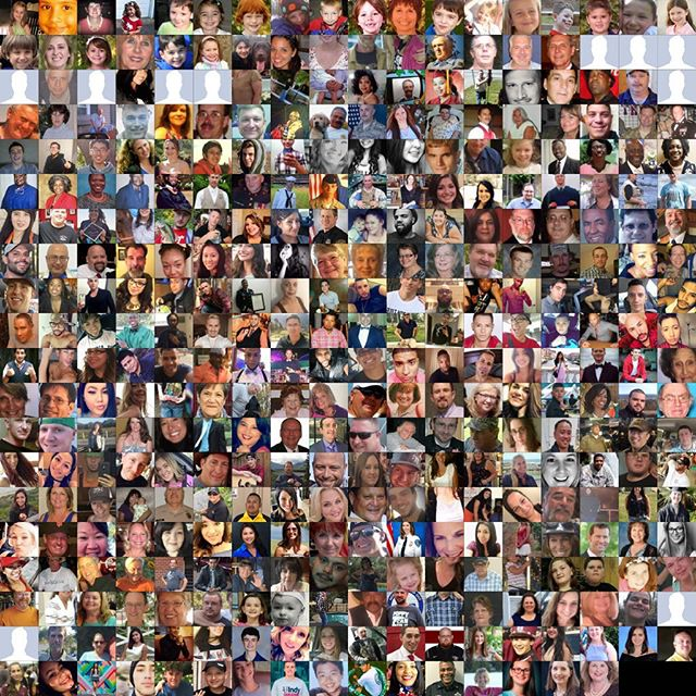 358. By most estimates, that's how many people have died since Sandy Hook in mass or school shootings. These are their faces. 358 human beings with stories, and families, and purpose. That doesn't begin to touch the nearly 100 people who die every day in the US from other forms of gun violence.  It doesn't have to be like this. Most places in the world, it is not like this. We can make common-sense changes to gun laws that will make this senseless death less frequent. Our inaction towards the lives of these defenseless ones is a scourge on our nation and its lawmakers. It's time each of us says #enoughisenough and #neveragain. We can, and must, and will change this.