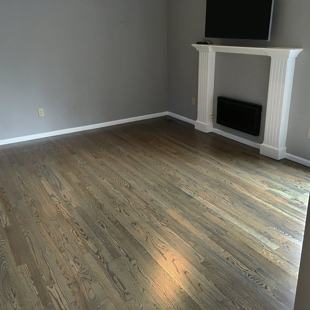 Red Oak Strip Floor