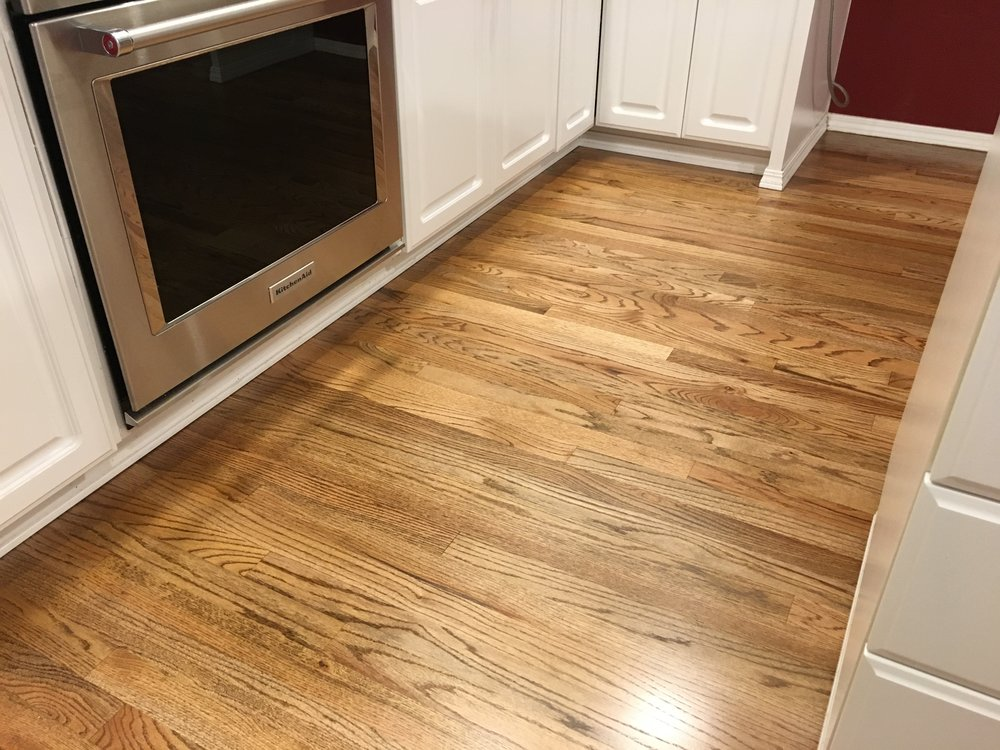 #1 Red Oak, Light Stain, Swedish Finish