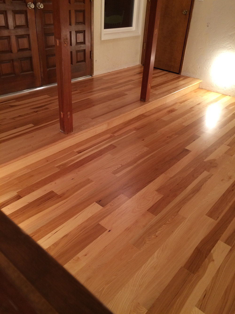Hickory Strip Floor