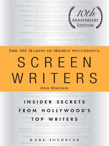 """A valuable book… - ...which is basically about 22 successful industry screenplay writers who give their experience, advice and opinions on all kinds of screenwriting topics. They even have a section on """"the habit of taking naps and relax"""" and """"having a favorite writing space covered"""".This book is not only great if you want to get an insight into the life of actual working screenwriters, it is the go to book to solve any issues regarding screenplay writing. I find it inspiring, helpful and motivating and it is a lot of fun and interesting to read."""