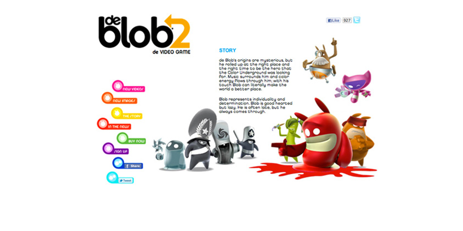 DE BLOB — PRODUCTION DESIGN [AGENCY WORK]