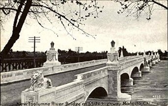 Dry Creek Bridge, Modesto, California