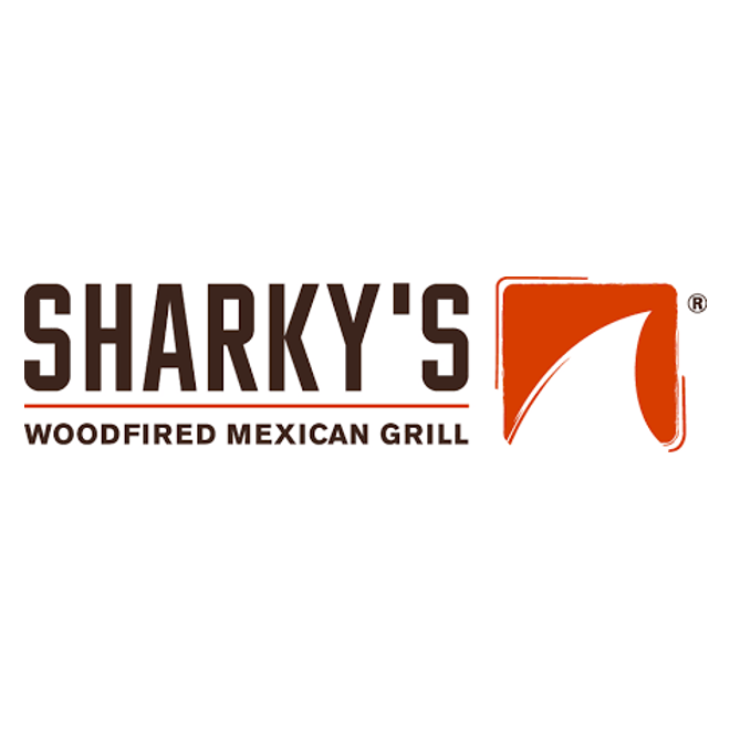 Sharkys Woodfired Mexican Grill logo.png
