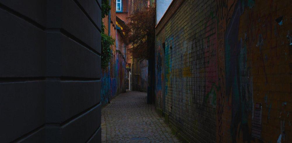 Streets of Århus - Denmark.