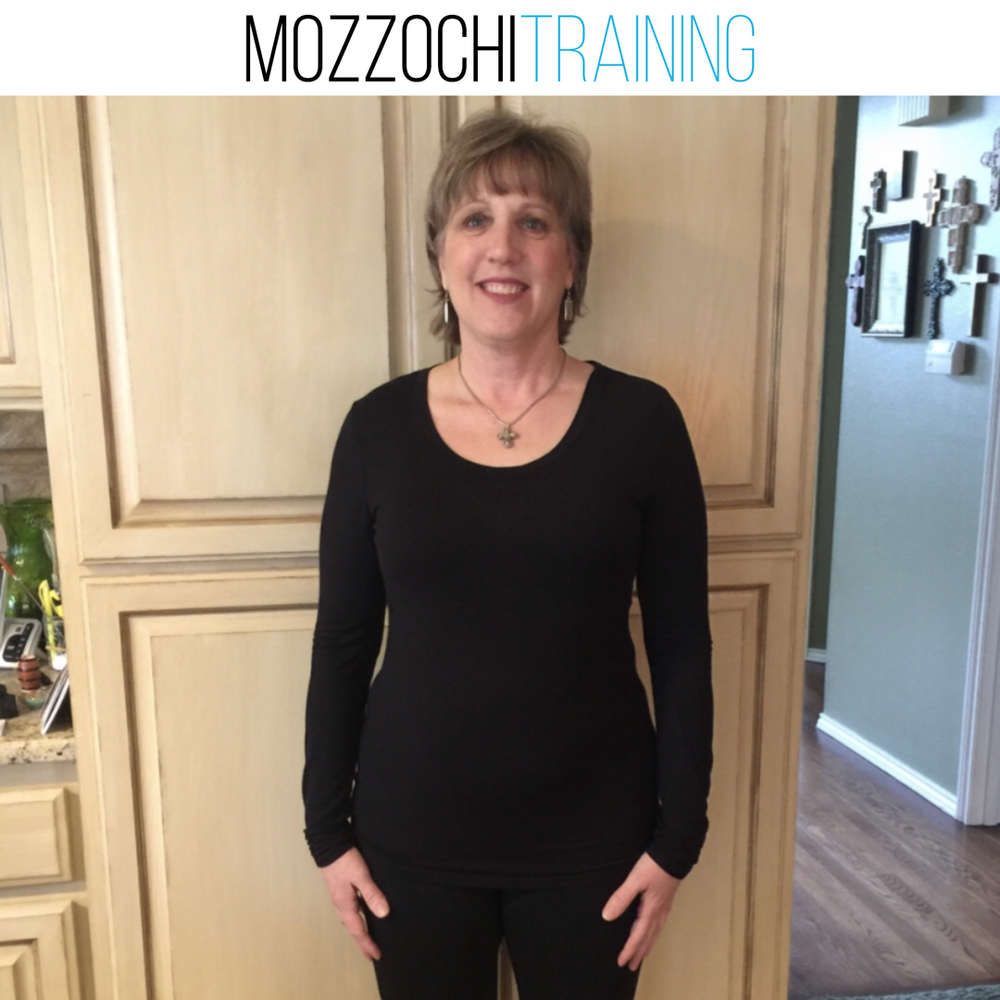 MELANIE M.   Mandy has been great to have as a trainer. She is always supportive always paying attention to me making sure all training is done properly so I'm not hurting myself. She has helped Council me in diet helping me to learn about food and macronutrients and the importance of tracking my food. She has been an encourager during training as well as weekly support when not doing personal training. I went into this to learn skills on diet and exercise with an amazing personal trainer who I now can call my friend.