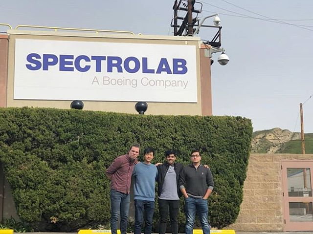 Thank you Spectrolab for your generous solar cell donation!