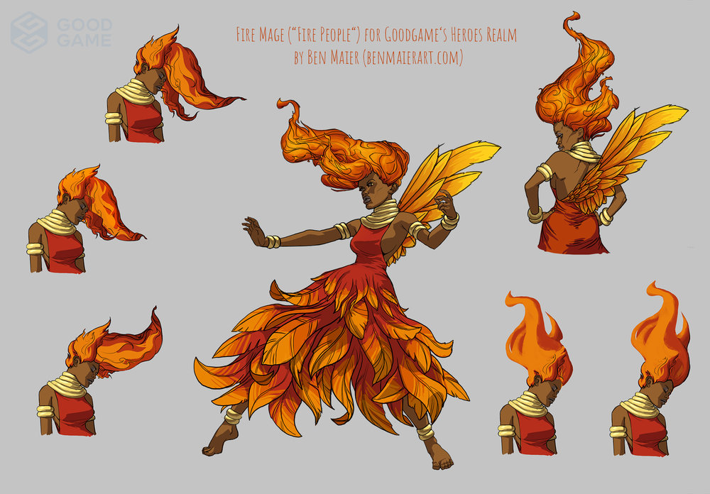 Fire Mage , Copyright by Goodgame Studios