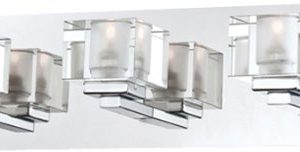 Prism, 3LT Bathbar, Satin Nkl