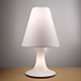 Panarea T, 2lt Table Lamp Mocha