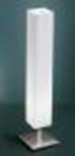 Kendo, 1lt Table Lamp Lrg Wht/s