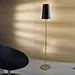 Kalef P, 3lt Floor Lamp, chr/am