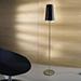 Kalef P, 3lt Floor Lamp, ch/wh