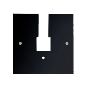 Outlet Box Cover, Black