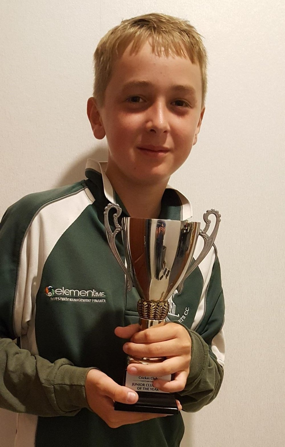 Otumoetai Cadets Junior Prizegiving Junior Clubman of the year 2018 Joel Griffiths.jpg
