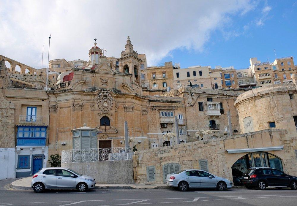 Xatt Pinto - the Valletta Waterfront, Malta ( Picture © Paul Wheatley )