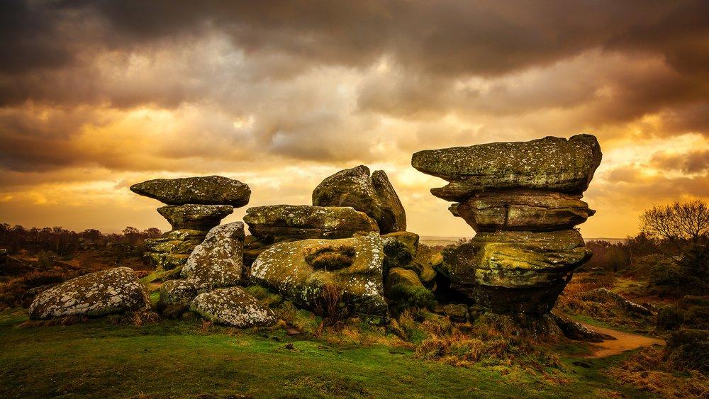 Brimham Rocks, Brimham Moor, Yorkshire. Source: TimHill, Pixabay.com