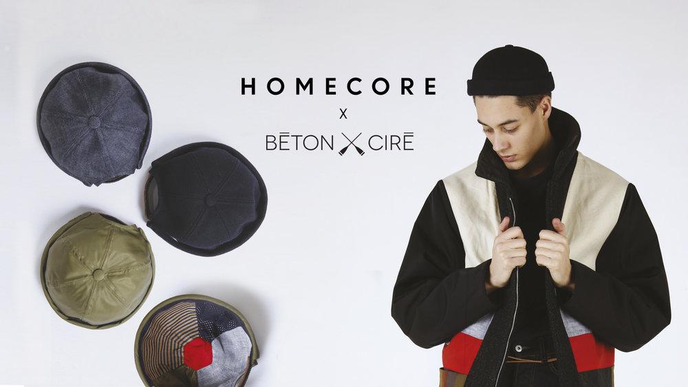 Béton Ciré - Collaboration Homecore - TheClothette