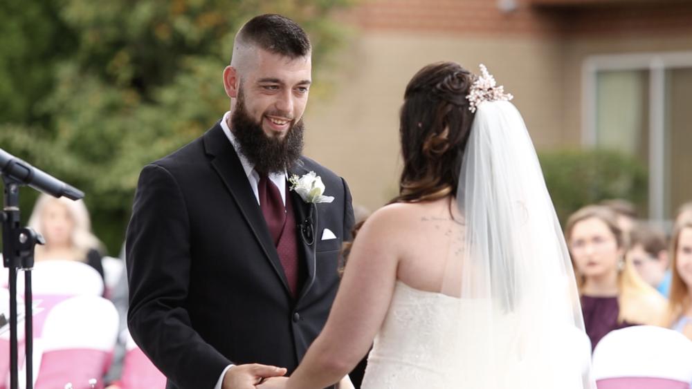 groom vows ceremony reclick creative videography audio