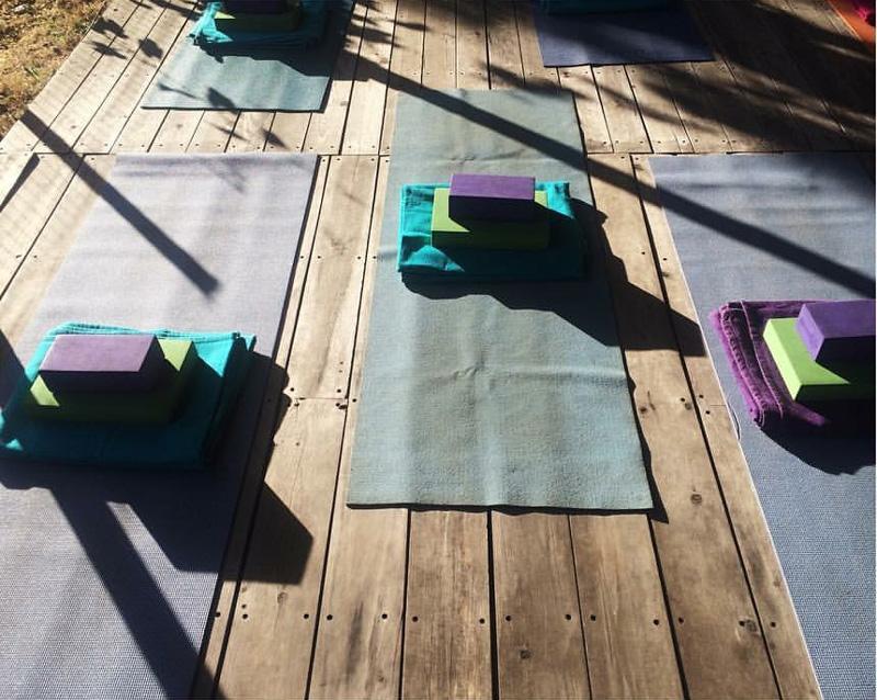 out door yoga