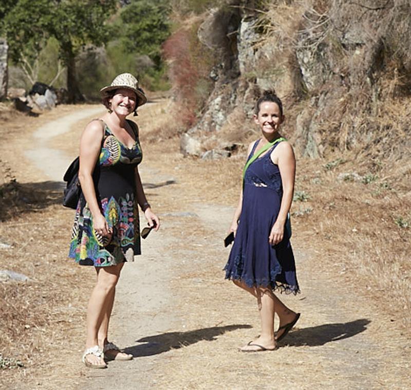 Sara Rooney and Fiona Macleod