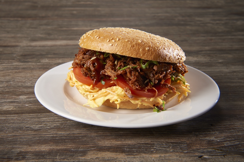 Pulled-Beef Burger