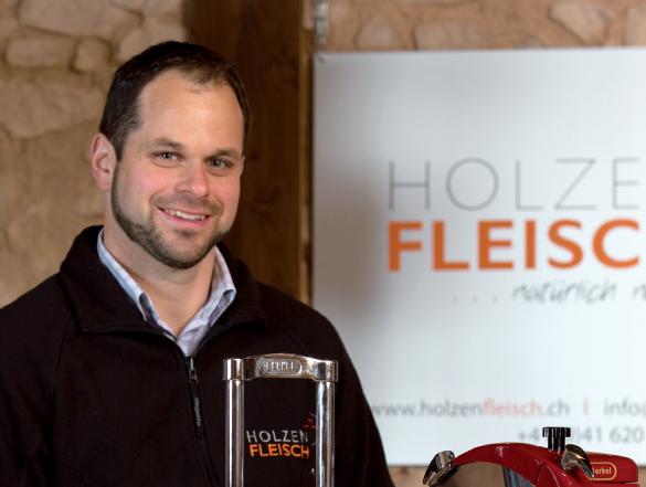 Stefan Mathis, Unternehmer, Holzen Fleisch