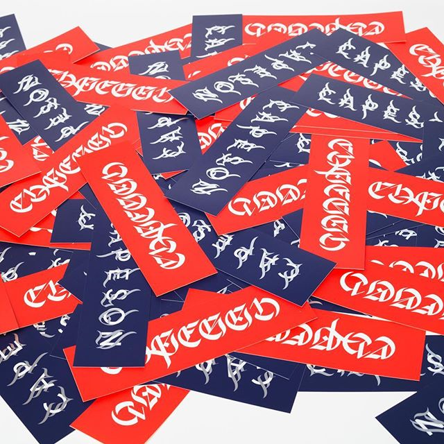 CALIGRAPHY STICKERS #stickers #capeson