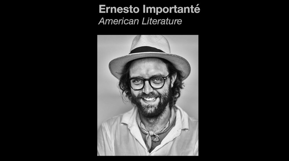 Ernesto Importanté is head of American Literature at Beaver. Ernesto doesn't like Roy.