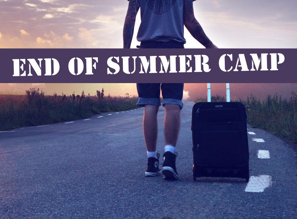 Saturday 14th July - 8-9.30 Breakfast10.00 Everyone's leaving