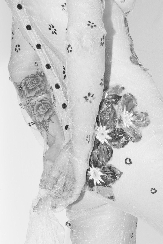 Model: Diane ● Designer: Totem ● Art director: Eric Nehr ● Stylist: Elin Björsell