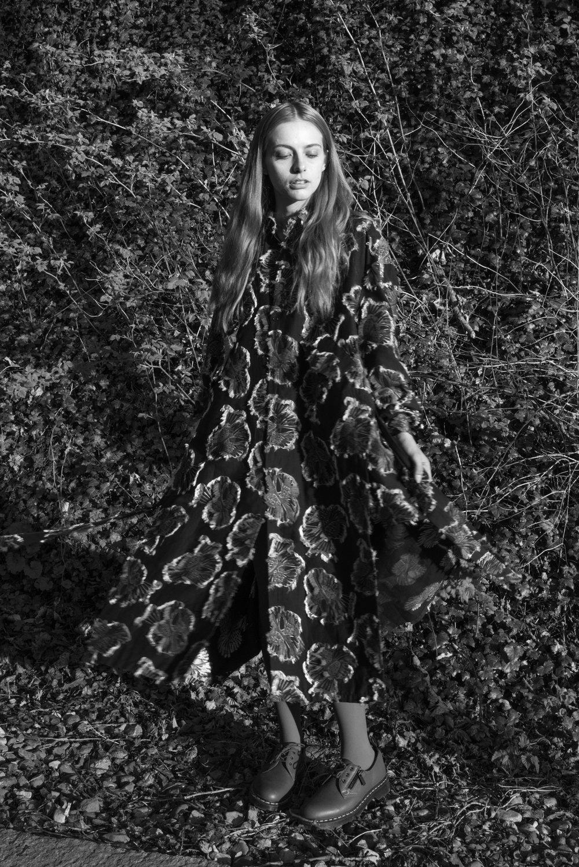 Model: Jade ● Designer: Henrik Vibskov ● Art director: Eric Nehr ● Stylist: Elin Björsell