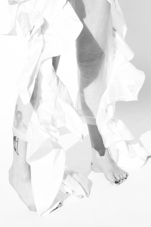 Model: Diane ● Designer: Sirloin ● Art director: Eric Nehr ● Stylist: Elin Björsell