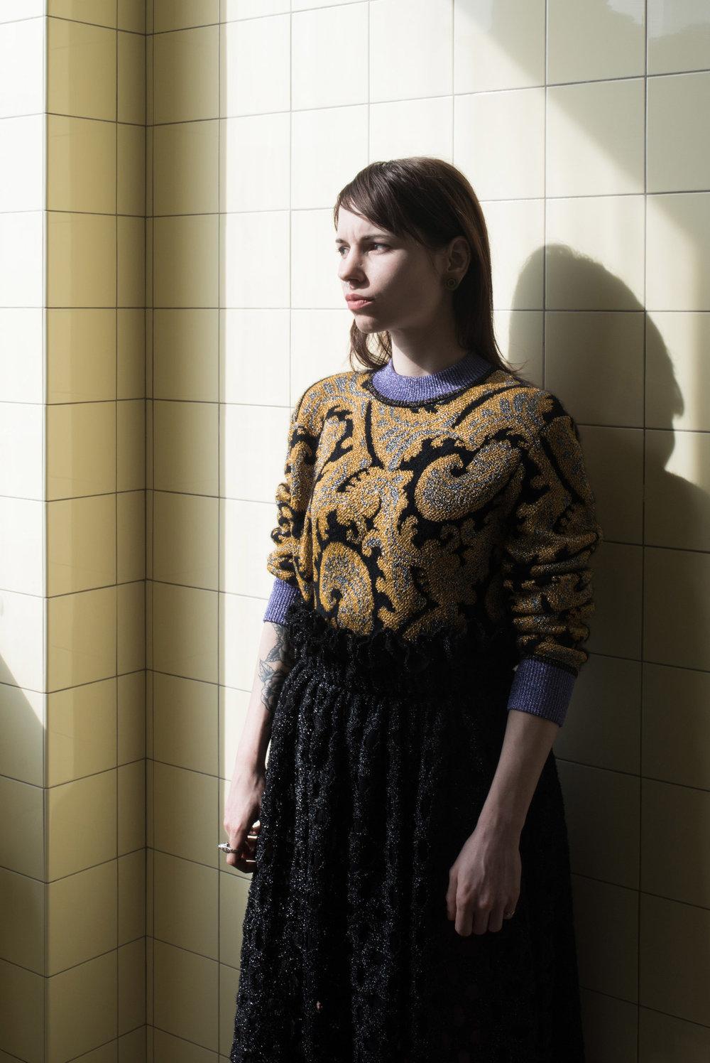 Model: Diane ● Designer: Jourden ● Art director: Eric Nehr ● Stylist: Elin Björsell