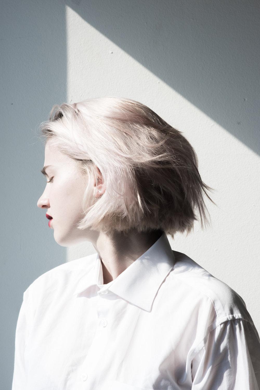 Model: Alice Oechslin ● Designer: Liselore Frowjin ● Art director: Eric Nehr ● Stylist: Elin Björsell