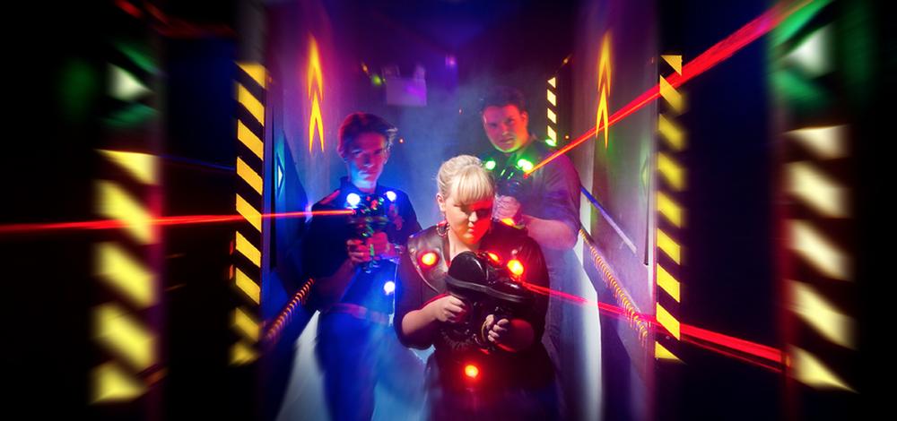 Laser Tag! -